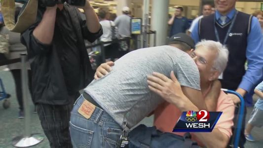 US Army captain reunites with parents from Puerto Rico