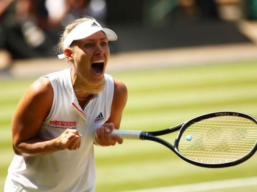 Angelique Kerber's spectacular defence carries her past Jelena Ostapenko and into Wimbledon final