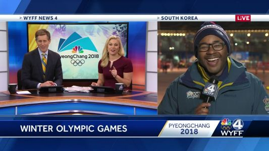 Geoff and Allyson get to chat with Nigel at Winter Olympics