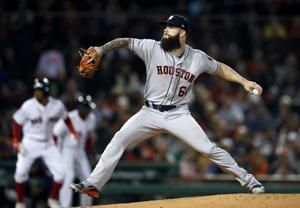 Moreland walks off Red Sox to avoid sweep by Astros