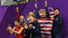 Team USA Wows With Historic Performances, Wins Bronze In Figure Skating Team Event