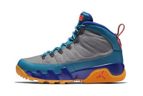 Jordan Brand Keeps the Air Jordan 9 Boot NRG Moving With New Multicolored Rendition