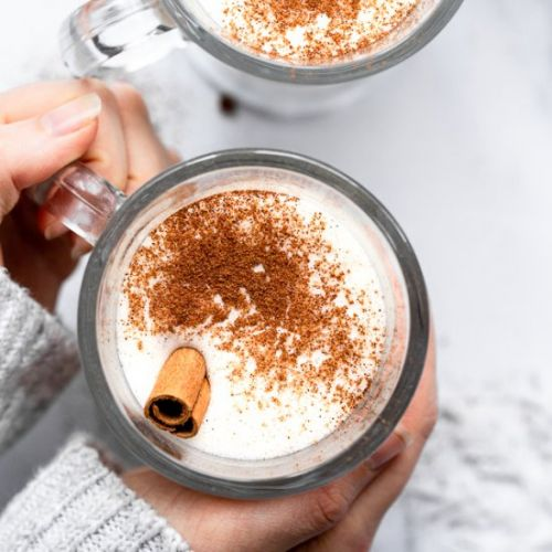 Low Carb Keto Eggnog