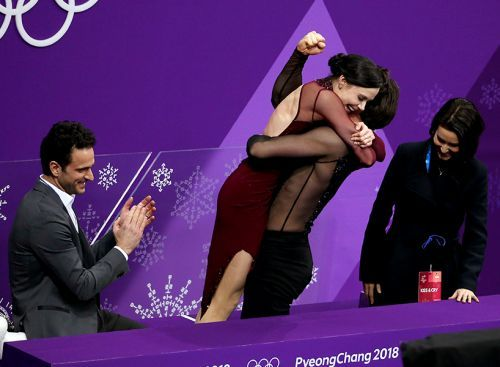 """""""We Are All Pregnant"""": The Best Reactions to Tessa & Scott's Gold Medal Performance"""