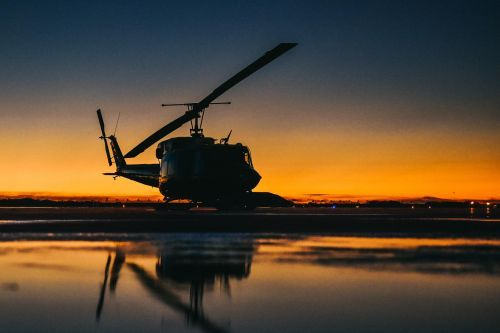 Air Force helicopter made emergency landing after being hit by bullet over Virginia