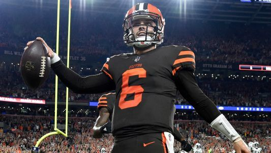 Browns to name Baker Mayfield starting QB Monday, report says