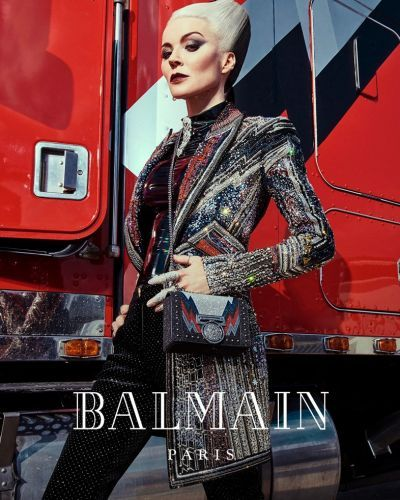 Watch Daphne Guinness driving a truck in Balmain's latest campaign