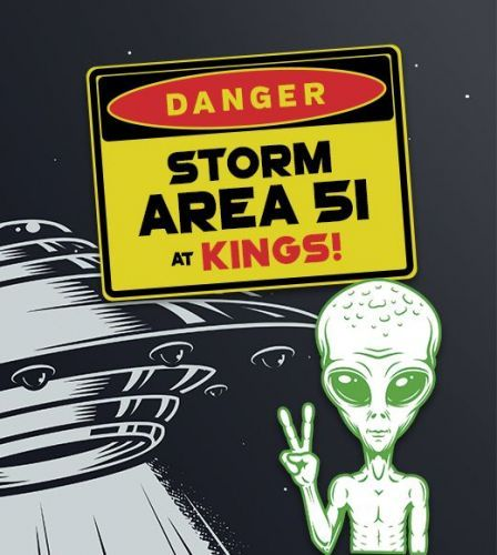 Kings Dining & Entertainment Hosts Storm Area 51 Party at ALL Locations This Friday