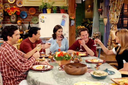 Official 'Friends' cookbook will be there for you, complete with 'Moist Maker'