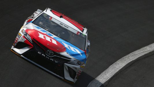 NASCAR starting lineup at Charlotte: Kyle Busch wins pole; Kevin Harvick fails inspection