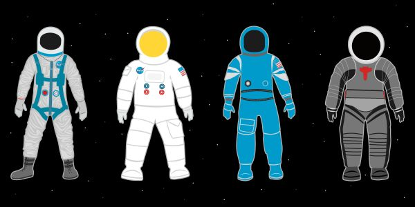 See the incredible 57-year evolution of US spacesuits - and new models that will soon protect NASA astronauts