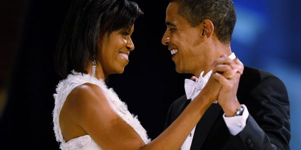Michelle Obama opens up about the first time she saw Barack and what their first kiss was like