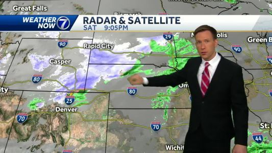 The latest on Sunday's rain and snow, Freeze Watch early Monday