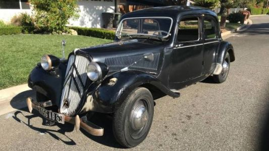 At $8,950, Could This 1955 Citroën Traction Avant 11BL Bring it to the Fore?