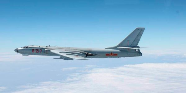Chinese bombers conducted an 'attack exercise' in the South China Sea