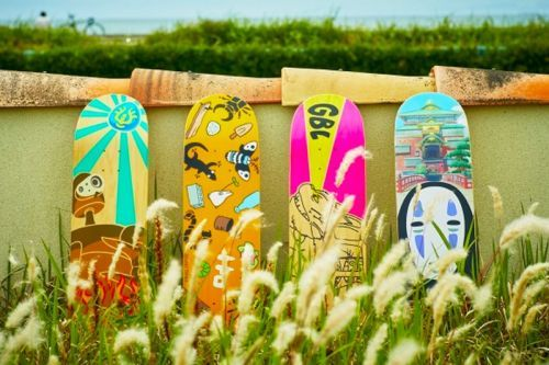Studio Ghibli Skateboards Offered at New Specialty Store in Tokyo