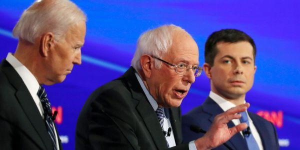 Bernie Sanders' media critics and opponents are suddenly focusing their attacks on the new frontrunner