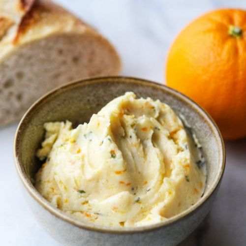 Orange Honey Rosemary Butter