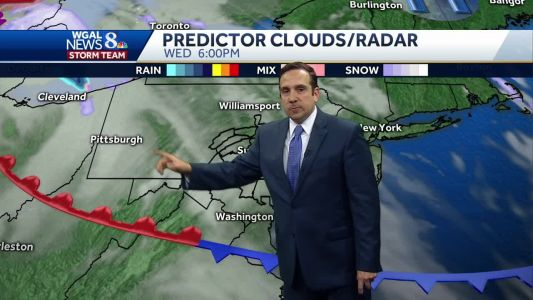 One More Dry Day; Light Snow Likely Tonight & Thursday