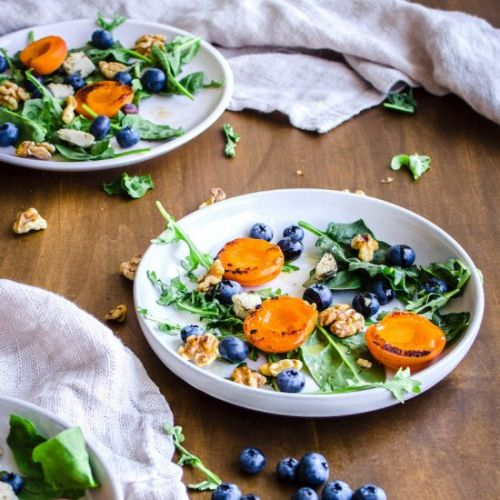 Easy Apricot Blueberry Salad