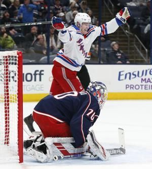 Panarin leads Rangers to 3-2 over Blue Jackets