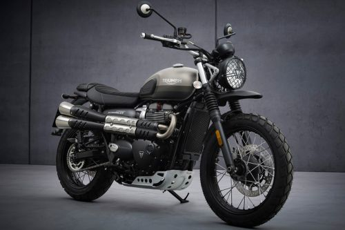 Triumph Updates Its 900cc Street Scrambler for 2022