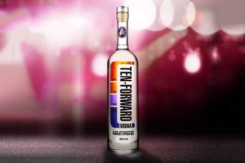 New Star Trek 'Ten-Forward Vodka' Debuts at Comic-Con