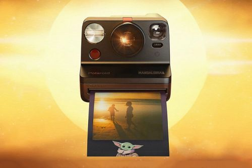 Polaroid Drops 'Mandalorian'-Themed Now Camera and The Child-Inspired Film