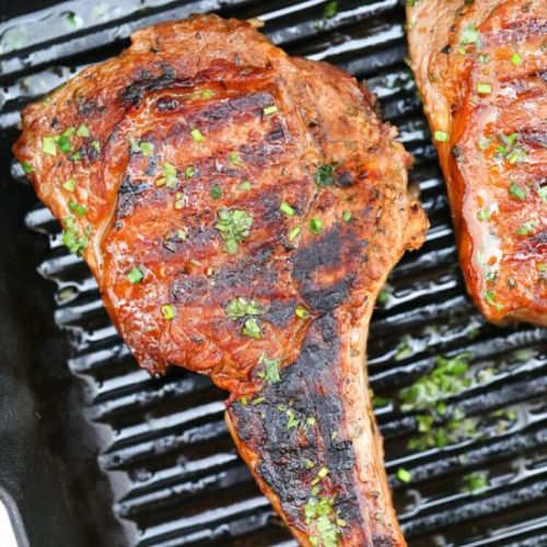 Grilled Steak and Marinade