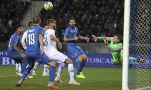 Stoppage-time goal for Italy in 1-0 win; Pulisic captains US