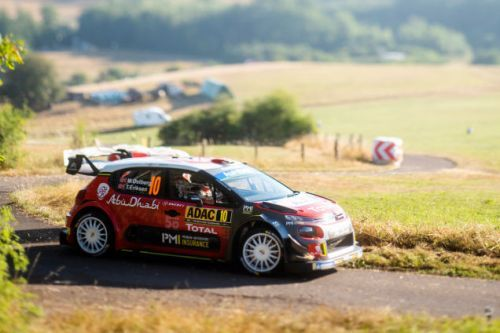 A Grumpy Fun-Hating Farmer Stops Rallye Deutschland in the Middle of the Stage