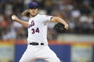 Syndergaard, Mets sweep Indians 2-0 for 5th win in row