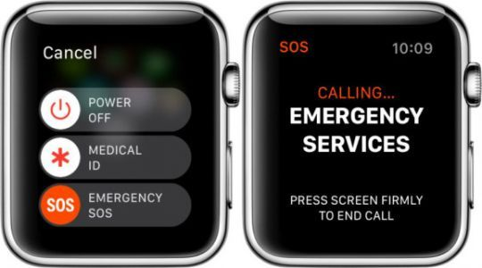 Zomm sues Apple for stealing Watch's Emergency SOS feature