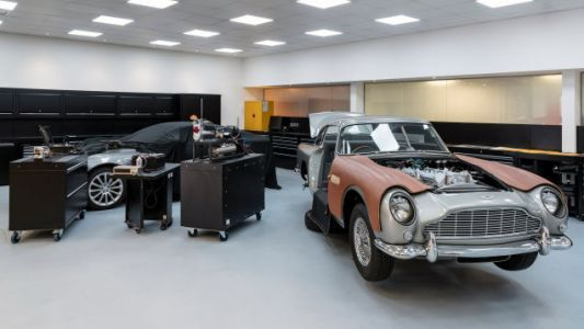 How Movie Magic Made the Aston Martin Goldfinger DB5 Continuation's Bond Gadgets a Reality