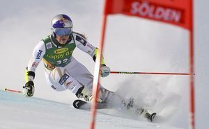 Left with no points, Vonn still happy to have raced in GS
