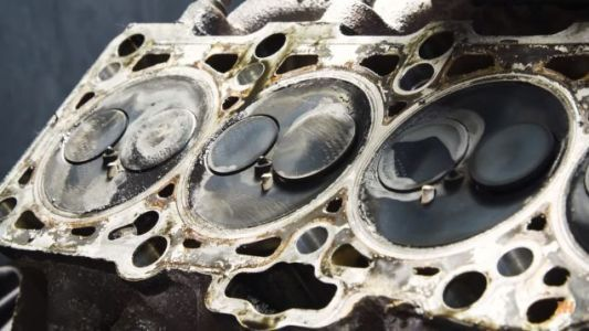 The Inside Of This High Mileage Engine Proves The Importance Of Proper Maintenance