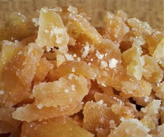 Easy Candied Ginger