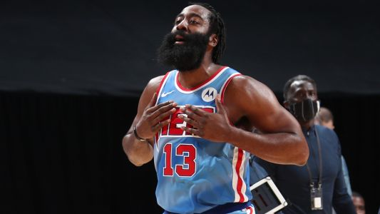 With dazzling passes in Nets debut, James Harden sought to make an unselfish first impression