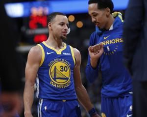 Warriors score NBA-record 51 points in 1st quarter