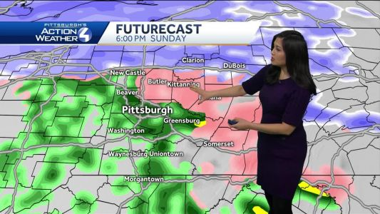 Snow, Rain, Wintry Mix This Sunday