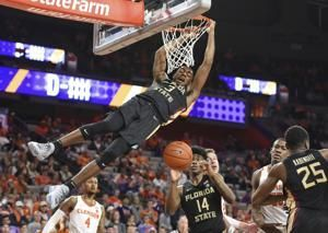 Kabengele leads No. 16 Florida State to 77-64 win at Clemson