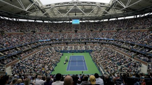 U.S. Open's indoor courts to serve as temporary hospital