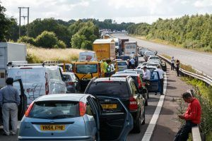 More than 5.3 million leisure car journey made on Friday