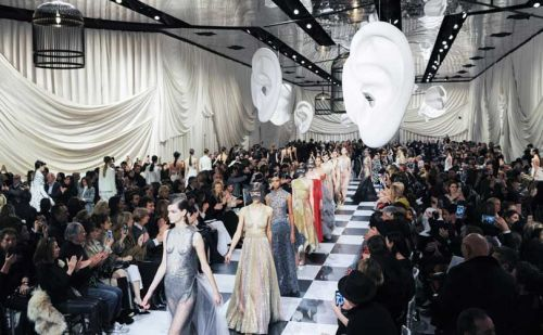Dior channels surrealist chic in Paris haute couture show