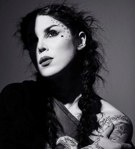 Kat Von D has stepped away from her beauty brand