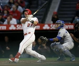 Trout hits milestone homer to lead Angels over Royals 6-3