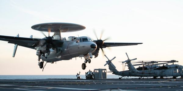 The Navy's new carrier is back at sea for more aircraft testing