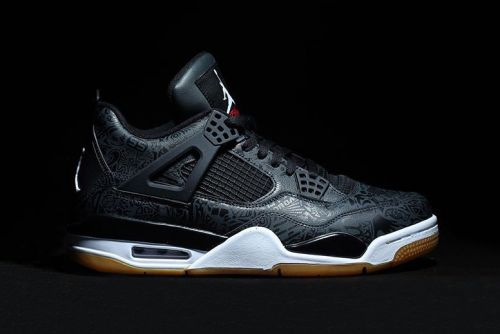 "The Air Jordan 4 Laser SE in ""Black Gum"" Is Dropping Early Next Year"