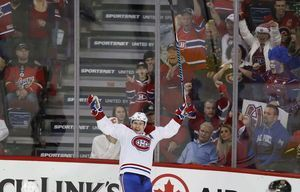 Byron Froese end drought, Canadiens beat Flames 3-2