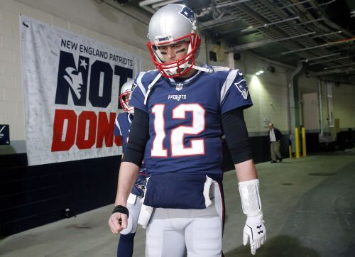Here's a look at Patriots QB Tom Brady's right hand